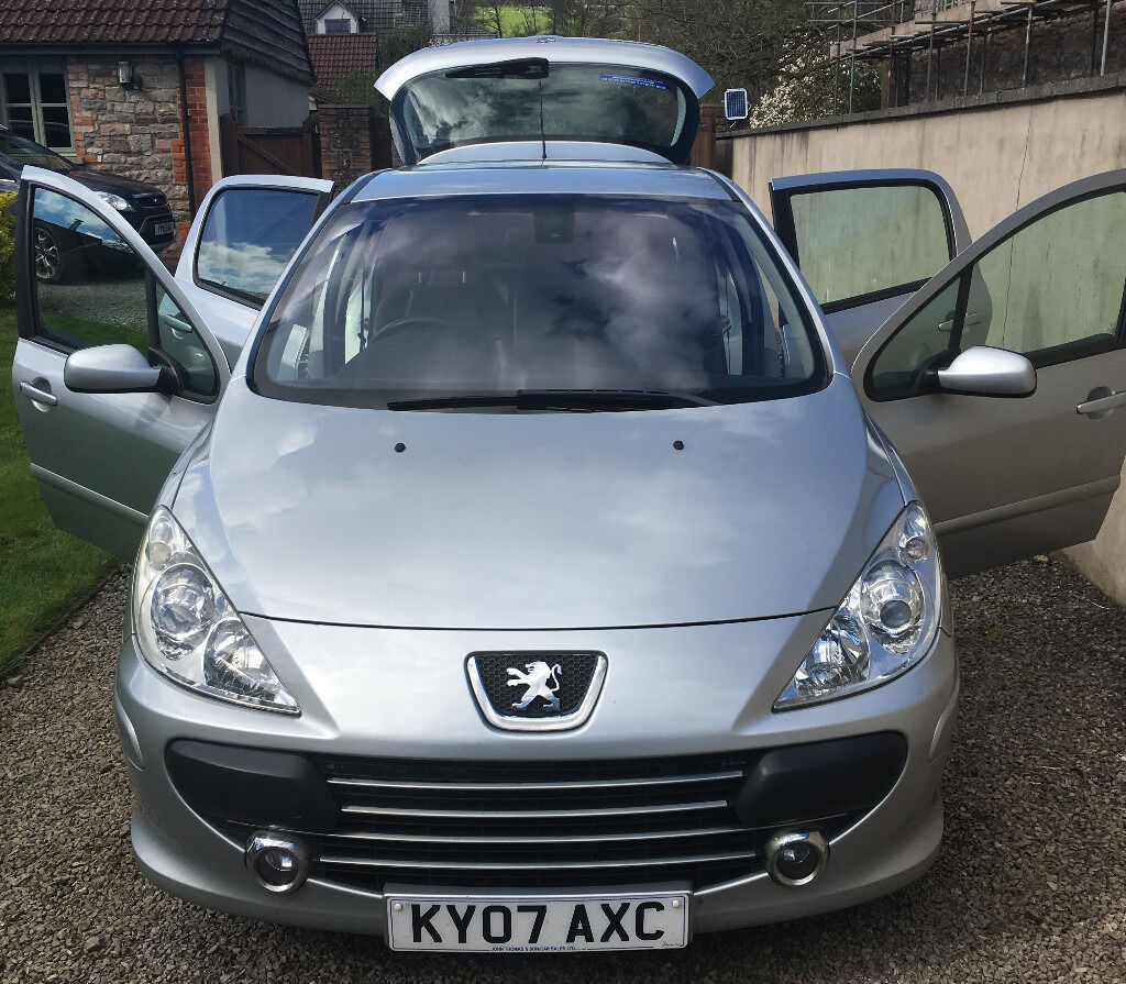 peugeot 307 2007 57 peugeot 307 1 6 sport 5dr in whitchurch cardiff gumtree. Black Bedroom Furniture Sets. Home Design Ideas