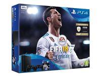 PS4 Playstation 4 500GB 1 GAME 1 Pad Fifa 18
