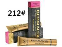 212# new dermacol film studio high covering make up Foundation