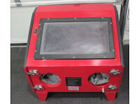 Bench Sand / Media Blasting Cabinet for garage workshop