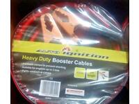 BRAND NEW SETS OF HEAVY DUTY JUMP LEADS (BOOSTER CABLES) 3 METRES 400A