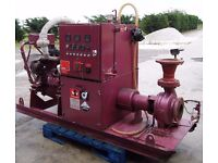 Water pump and engine