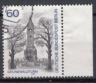 Berlin 1980 Mi. Nr. 636 mit Rand Gestempelt (24721)