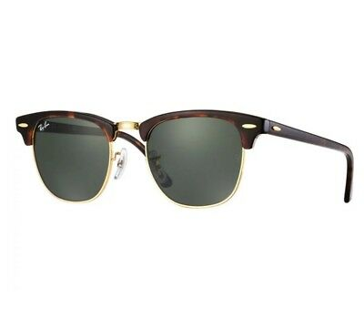Ray-Ban CLUBMASTER Classic Tortoise 51 mm