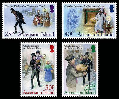 Ascension Is 2012 Christmas 4v set MNH