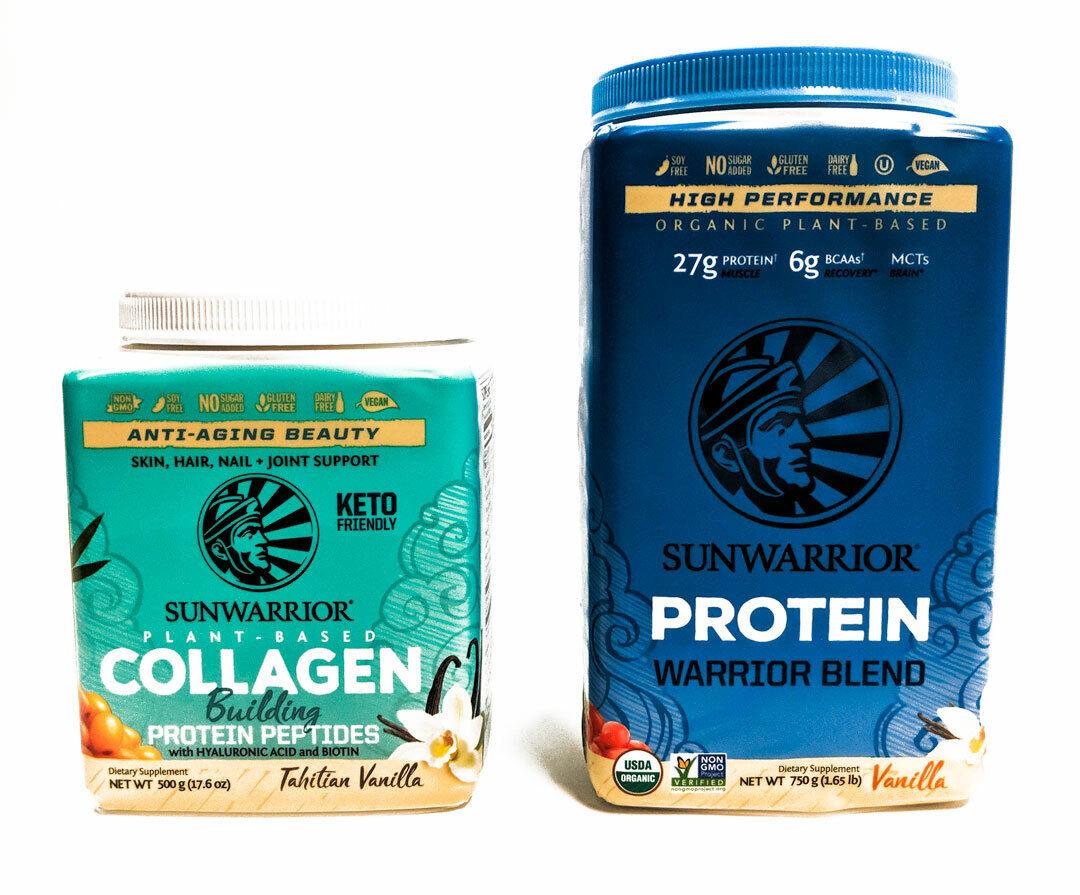 SunWarrior WARRIOR BLEND + COLLAGEN BUILDER Protein / Peptid