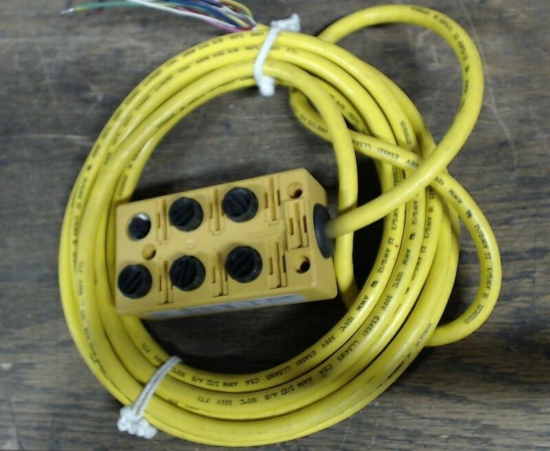 Turck junction box VB60.5-5 w/ 16 pigtail cable