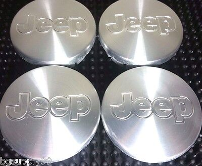 4 pcs, Jeep, Wheel Center, Hub Cap, Chrome,  55mm, Commander, Liberty, Patriot,