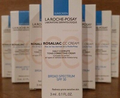 La Roche Posay Rosaliac CC Cream SEVEN TRAVEL PACKS,  FRESH, NEW, AUTHENTIC