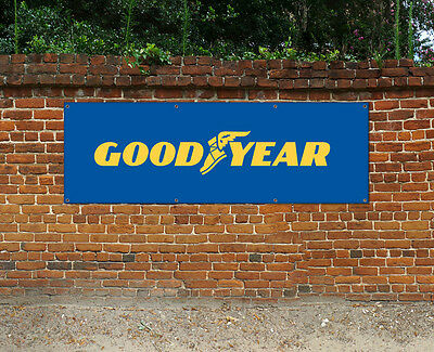 GOODYEAR TYRES  - PVC BANNER - WORKSHOP, GARAGE & BEDROOM