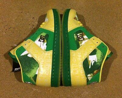 DC Manteca 2 M LX Woman's Size 7.5 Emerald Yellow BMX Skate Shoes Sneakers Womens Manteca 2 Shoe