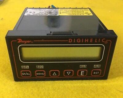 Pressure Digital Panel Meter Dwyer Instruments Dh-002