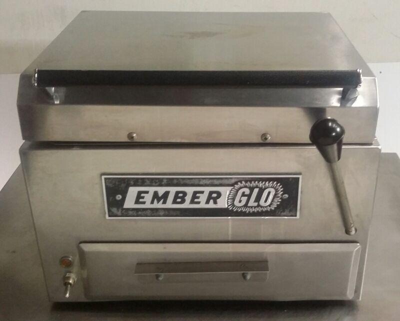 EMBERGLO FS-1 FOOD STEAMER, STEAM COOKER, COMMERCIAL STEAMER RESTAURANT SANDWICH