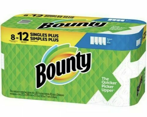 Bounty Select-A-Size Paper Towels 8 = 12
