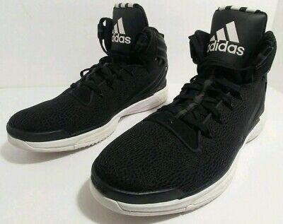 da7a2412a30 Adidas D Rose VI Boost 6 Derrick Rose Sneakers Black Basketball Shoes Size  14