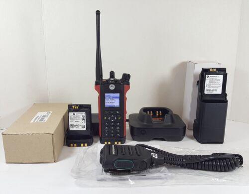 Motorola APX6000 3.5 UHF 380-470 MHz TDMA Phase 2 P25 Digital Radio H98QDH9PW7AN