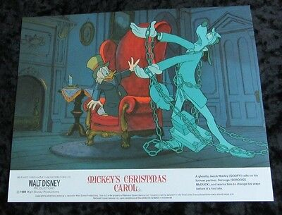 Mickey's Christmas Carol lobby cards - Walt Disney, Mickey Mouse, Goofy