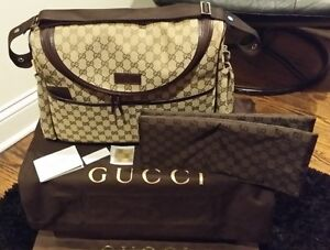 Authentic Gucci Diaper Bag New With Tags; NWT; Includes Dust Bag and Box