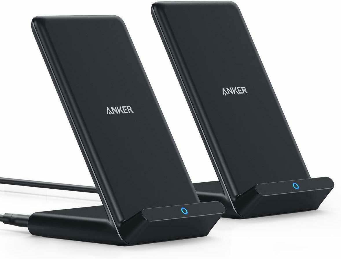 Anker Wireless Charger 2 Pack Stand Qi-Certified 7.5W for iP