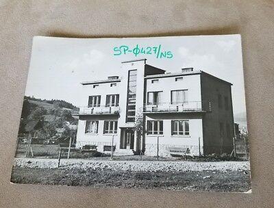 Vintage Postcard QSL card Muszyna Poland Polish Bukowianka Amateur Radio Station