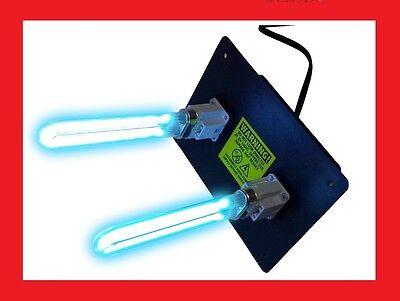 UV LIGHT Germicidal for ac HVAC ultravaiolet dual lamp duct