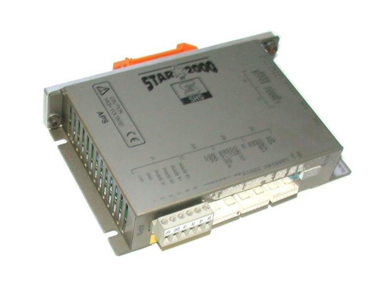 SHS STAR 2000  APS1-C-00/S3  Stepper Drive Module