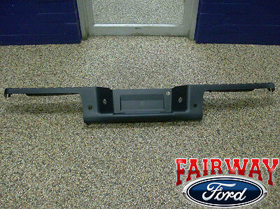 09 thru 14 Ford F-150 OEM Genuine Ford Rear Bumper Top Step Pad Cover w/ Prox