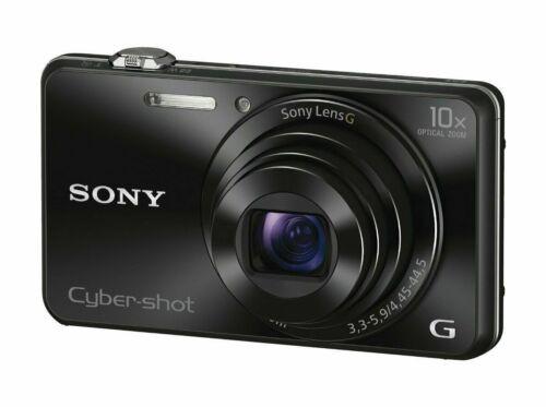 Sony DSCWX220 18.2-Megapixel Digital Camera Black DSCWX220/B