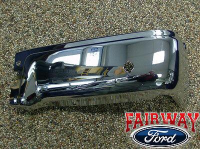 09 thru 14 Ford F-150 OEM Genuine Ford Rear Chrome Step Bumper w/ Prox RH Pass