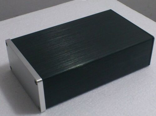2pcs Full Aluminum amplifier Enclosure Mini AMP Case Preamp Box PSU Chassis 0905