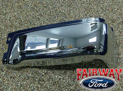 09 thru 14 Ford F-150 OEM Genuine Ford Rear Chrome Step Bumper wo Prox RH Pass