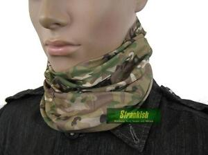 BRITISH ARMY STYLE HEADOVER NECK WARMER IN MULTICAM CAMO
