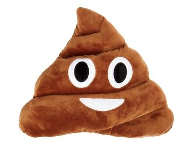 Poop Emoji Pillow Cushion Soft Stuffed Plush Toy Doll -