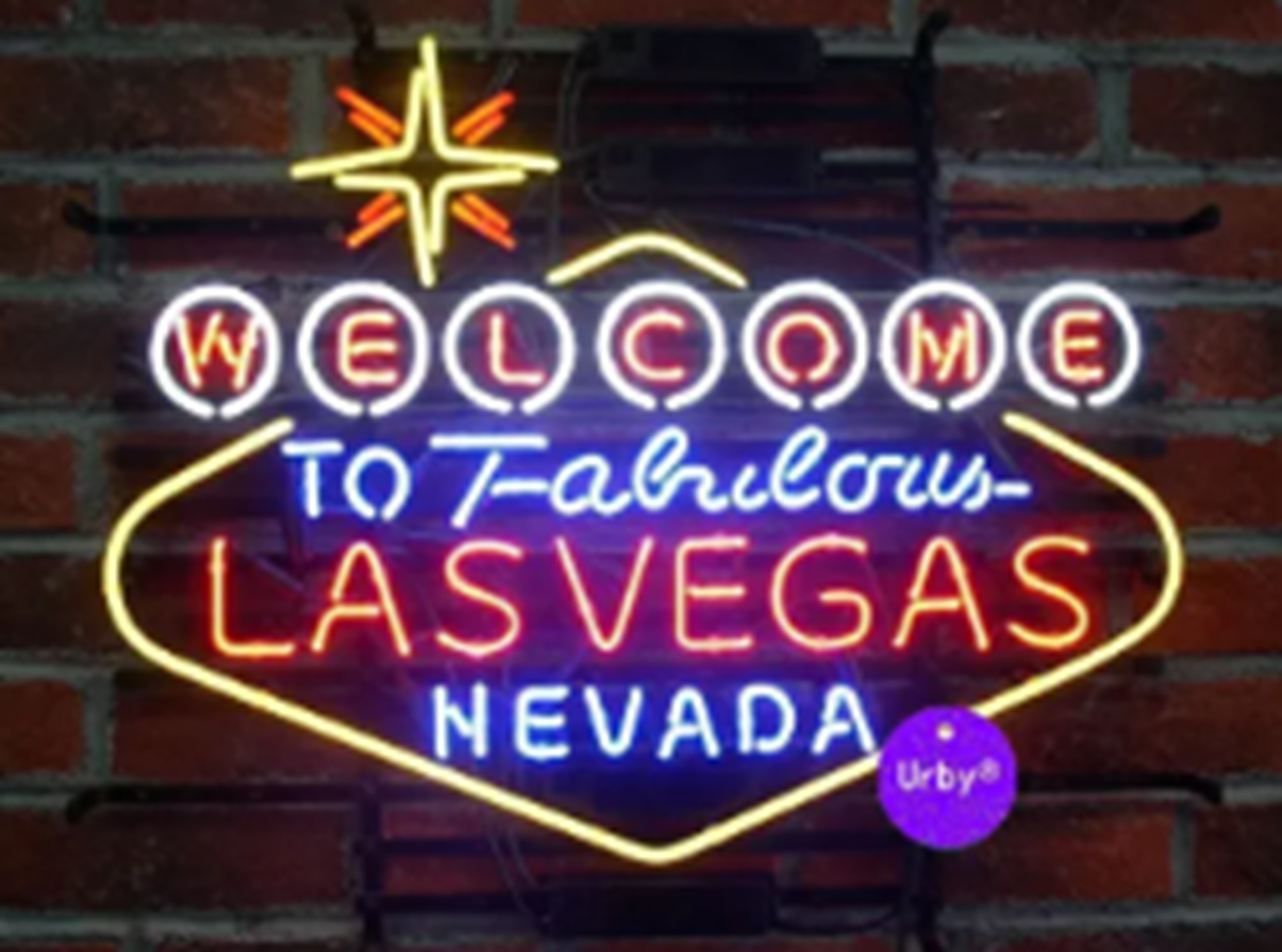 New Welcome to Fabulous Las Vegas Nevada Beer Bar Neon Light