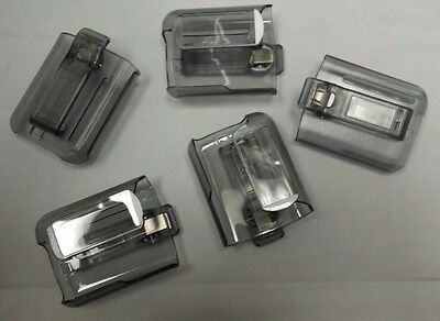 LOT OF 5   MOTOROLA / UNICATION PAGER BELT CLIP HOLSTER - ADVISOR - ELITE - FLEX ()
