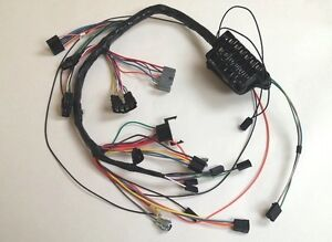 1963 63 Impala Under Dash Wiring Harness with Fusebox Automatic Powerglide