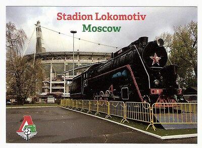 Stadionpostkarte FC Lokomotive Moskau (Neu, exklusiv und limitiert)