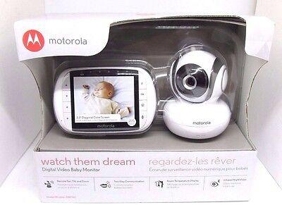 Motorola Digital Video Baby Monitor with 3.5