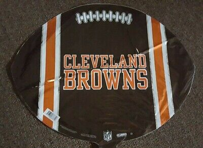 New NFL Cleveland Browns Football Foil Mylar Balloon 17in