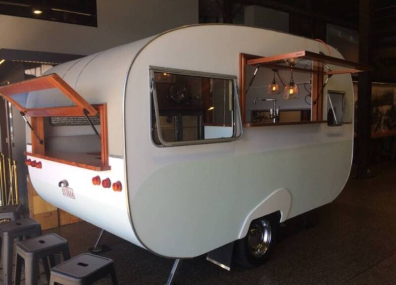 19b1716113 Vintage Caravan- 1954 Mobile Bar  47 Coffee  47 Food Truck ...
