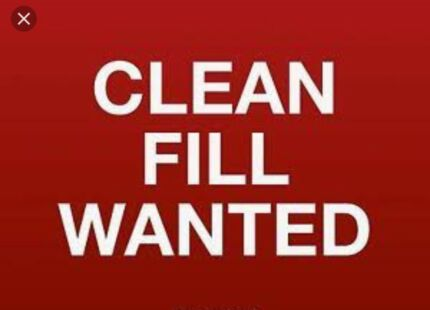 Wanted: Clean fill wanted 350t kurri / Weston