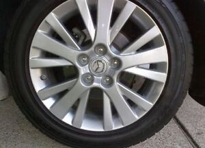 2009 mazda 6 tires and rims