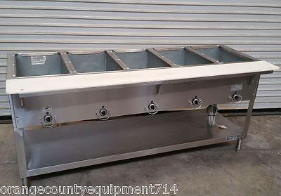 New 5 Well Gas Steam Table Duke Aerohot Db 305 Dry Bath Nsf 4407 Commercial Hot