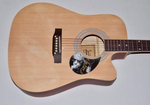 Jon Bon Jovi Signed Autographed Full Size Acoustic Guitar Bon Jovi COA