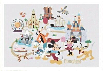 Disneyland Resort Postcard - Disneyland and California Adventure (Disneyland California Adventure)