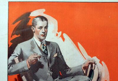 Vintage Men's Fashion Suits Coats Advertising 1920s Dapper Attire Mens Style A5 - 20s Fashion Mens