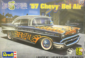 Revell 1/25 '57 Chevy Bel Air Ed Big Daddy Roth Plastic Model Kit 85-4306