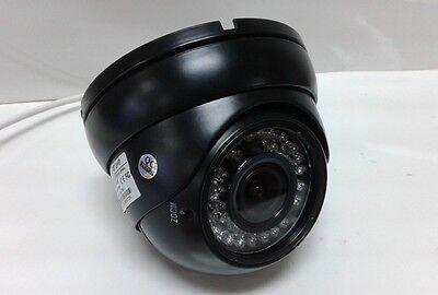 "HD-CVI 1080p 2MP 2.8-12 VariFocal Dome Camera 1/3"" CMOS IR 36LED HDCVI Jet Black"