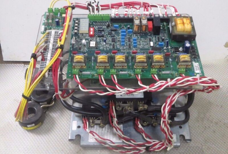 BENSHAW LOW VOLTAGE SOLID STATE CONTACTOR 158 AMP 100-240V W/ DMS FIRING BOARD!!