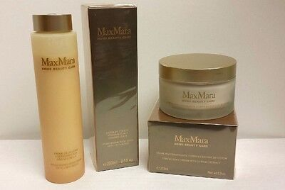 Firming Body Cream Cotton Extract & Moisturizing Body Wash By Max Mara NEW Lot covid 19 (Firming Body Wash coronavirus)